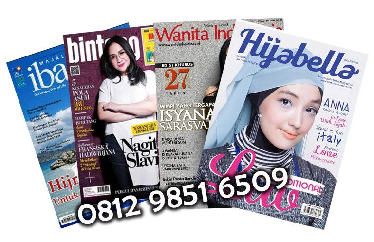 Cetak Majalah Full Color