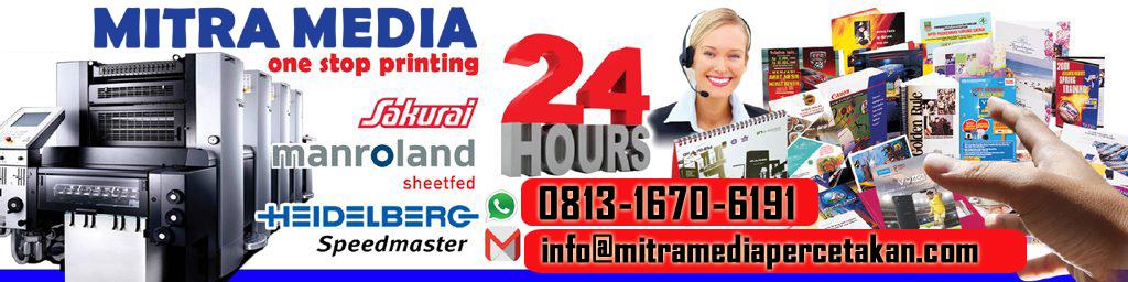 Mitra Media Percetakan Bekasi 0813-1670-6191